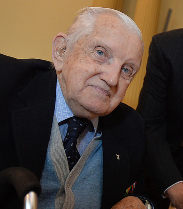 Hero: James Hamilton (91) was a Spitfire flight sergeant pilot