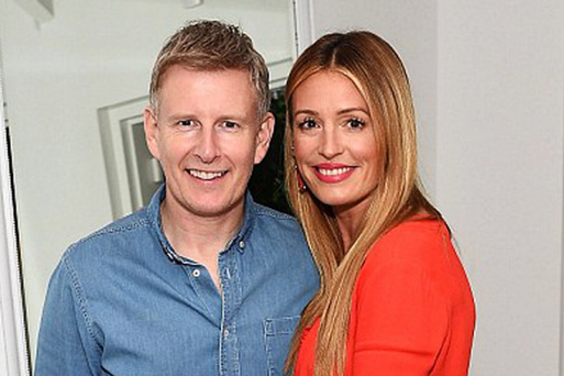 Northern Ireland funnyman Patrick Kielty may think he and glamorous wife Cat Deeley are an odd couple - but the two looked like they were made to be together as they posed at a Beverly Hills celebrity party