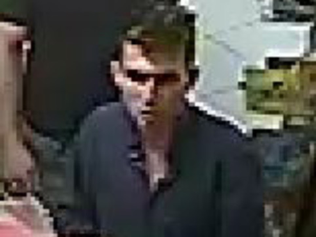One of the men police want to speak to over the robbery