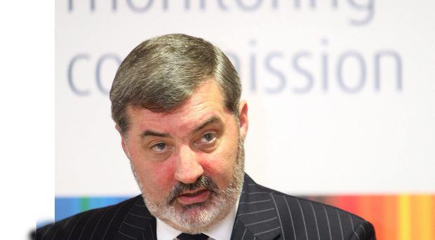 Lord John Alderdice led the Independent Monitoring Commission (IMC) until 2011