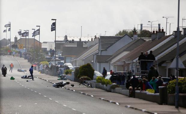 The crash at the NW200