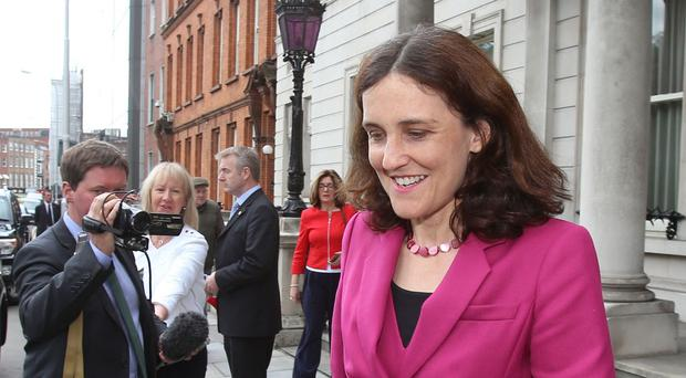 Theresa Villiers said the Government could legislate on welfare reform in Northern Ireland
