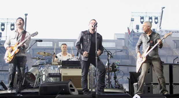 U2's show is designed for a certain type of venue and The Edge says Belfast might have one