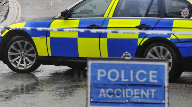 A man died after he was hit by a red Mercedes in Co Tyrone