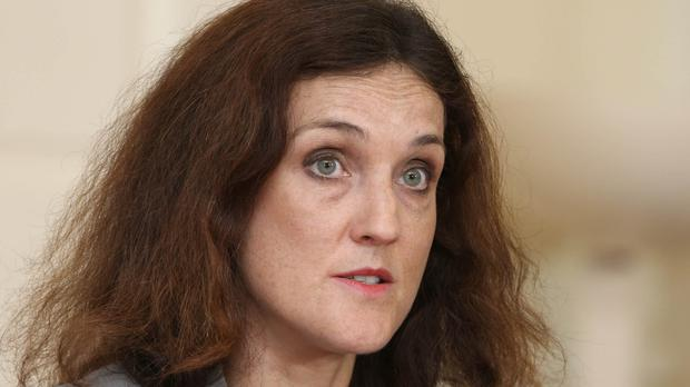 Theresa Villiers has warned that the future of Stormont's political institutions is in jeopardy.