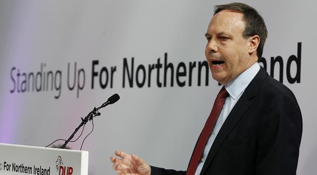Nigel Dodds warned of the 'very grave state' of the devolution process unless action was taken