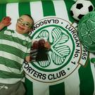 Jay Beatty, 11, won Scottish football's goal of the month award in January