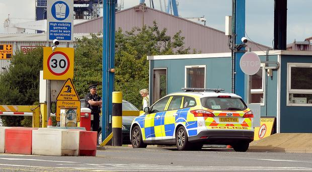 A total of 35 Afghan Sikhs, including 15 children, were found inside the container at Tilbury Docks, Essex, on August 16 last year