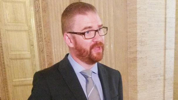 Health Minister Simon Hamilton wants Northern Ireland to become a world leader in treating people with psychological trauma