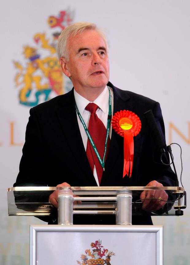 John McDonnell has been appointed shadow chancellor by Jeremy Corbyn