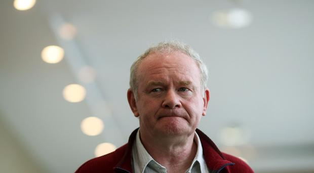 Sinn Fein's Martin McGuinness warned that talks to save Northern Ireland's floundering powersharing government cannot have preconditions attached