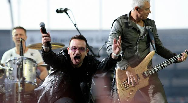 U2 are to play in Dublin and Belfast