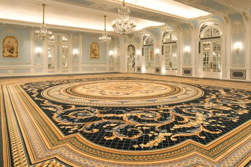 Creations by Portadown company Ulster Carpets grace the Savoy Hotel
