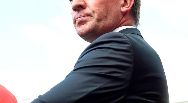 Liverpool manager Brendan Rodgers. Club is struggling for goals and creativity