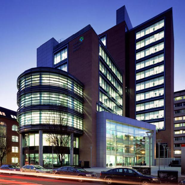 Invest NI's high-rise headquarters in the centre of Belfast