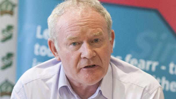Martin McGuinness described himself as an