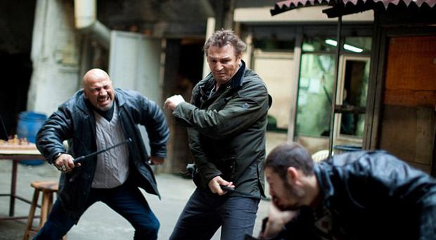 Liam Neeson in Taken 2, the second instalment in the franchise