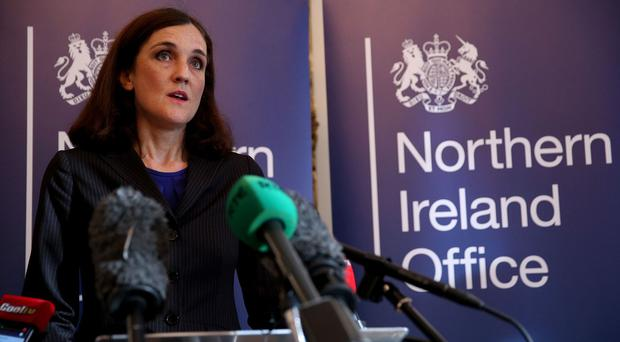 Northern Ireland Secretary Theresa Villiers said she recognised the scale of the task ahead