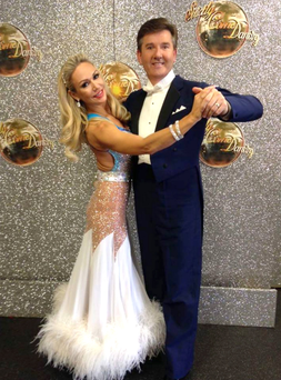 "Kristina Rihanoff has described her Strictly partner Daniel O'Donnell as a ""sweetheart"""