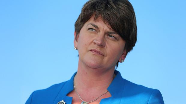 Arlene Foster said victims of Libyan-sponsored IRA terrorism deserve a financial recompense