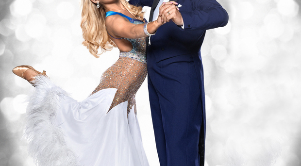 Daniel O'Donnell with Strictly Come Dancing partner Kristina Rihanoff