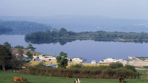 Lower Lough Erne as a well-being survey found people in Fermanagh and Omagh were the happiest on a scale of 0 to 10