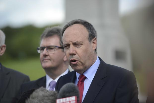 DUP MP Nigel Dodds said the Troubles had taught us that