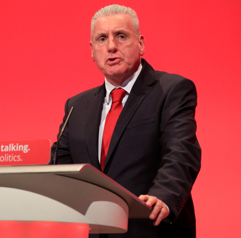 Address: Vernon Coaker at conference yesterday