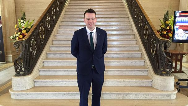 Colum Eastwood has confirmed he will run for the leadership of the SDLP