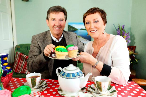 Daniel O'Donnell with wife Majella