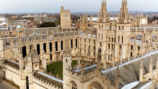 Oxford University has been rated the second in the world