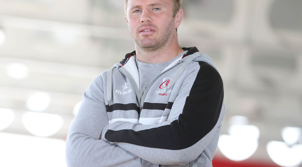 Roger Wilson at Ulster Rugby's Kingspan Stadium earlier this week