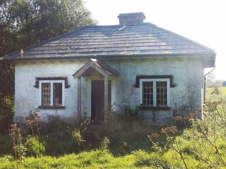 The gate lodge at Colebrooke Estate in Co Fermanagh