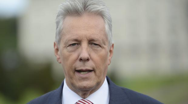 Claims: First Minister Peter Robinson