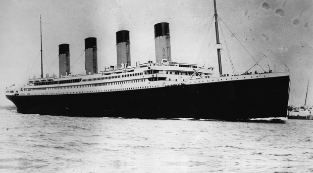 The ill-fated Belfast liner