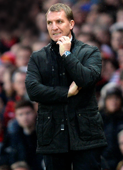 Sacked Liverpool boss Brendan Rodgers