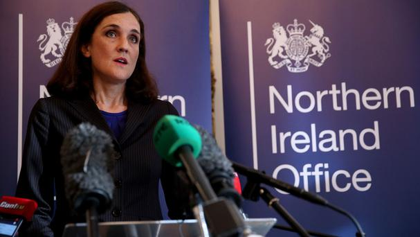 Northern Ireland's political leaders have yet to agree over welfare reforms, Theresa Villiers has said