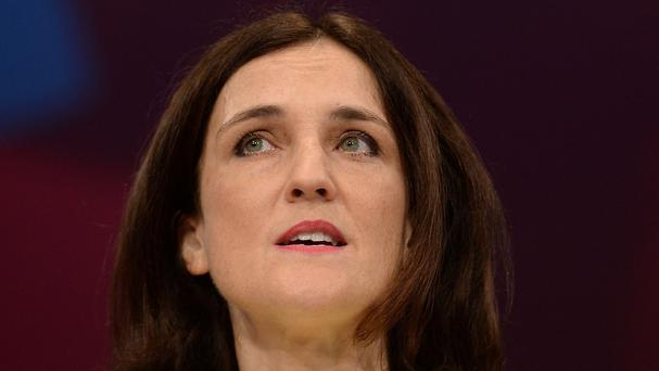 Theresa Villiers took a swipe at Jeremy Corbyn and John McDonnell