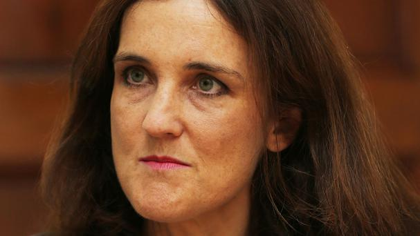 Theresa Villiers condemned the attack