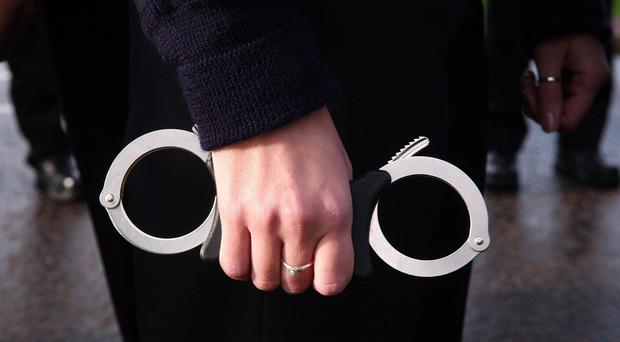 Two people arrested at the scene have been released on bail pending further enquiries.