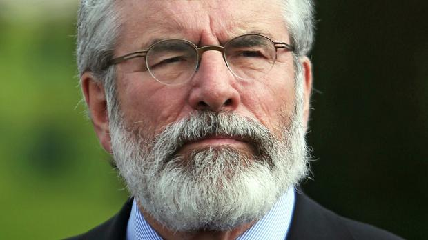 Gerry Adams says unionist leaders must demonstrate they are