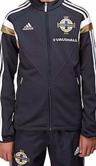 The tracksuit Meikle was wearing when barred