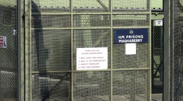 The prisoner was produced from Maghaberry prison