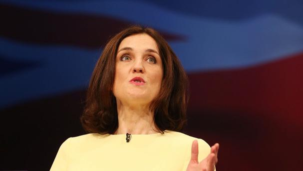 Theresa Villiers highlighted the political impasse in Northern Ireland