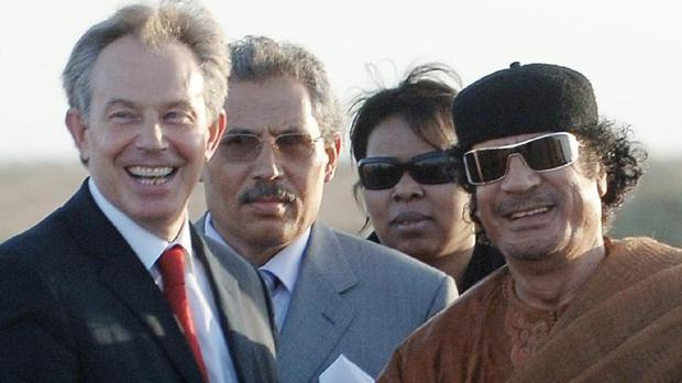 Sir Vincent Fean said a decision was taken by Tony Blair's administration 'not to take up the cudgels on behalf of the victims directly' after relations with Muammar Gaddafi's regime were restored