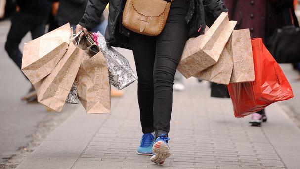 A report published today shows more people hitting the shops in September than in the previous three months, due to good autumn weather and an extra bank holiday trading day