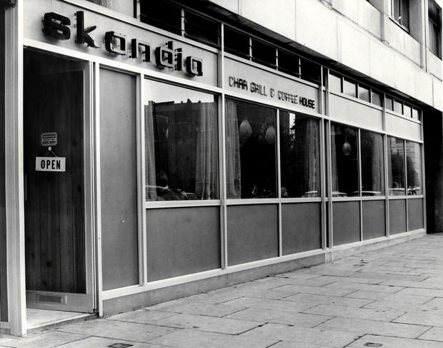 The old Skandia (pictured) menu will live on in the Davis family's Acton & Sons restaurant in Belfast