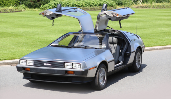 The first DeLorean built in Belfast since 1983 is an all-electric marvel