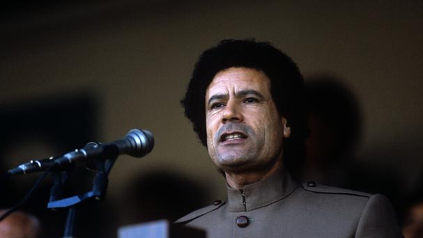 At least £900 million of the late Muammar Gaddafi's huge fortune has been frozen in the UK since around 2011