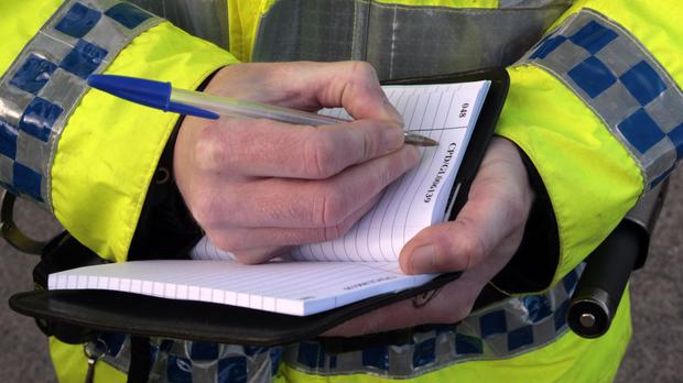 Police are investigating an arson attack in Co Antrim